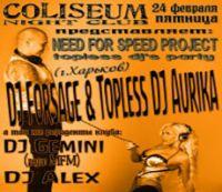 Topless DJ Show
