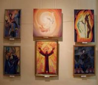 Выставка работ художников Донбасса