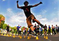 Городские соревнования по роллер спорту