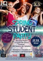 SPRING STUDENT PARTY