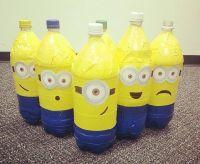 Миньоны из пластиковых бутылок