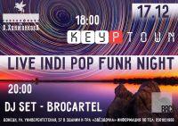 Live Indi Pop Funk Night