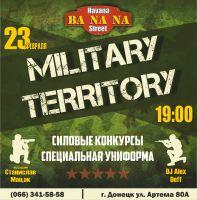 MILITARY TERRITORY