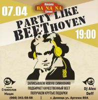 Party like BEEThoven