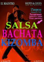 Salsa, Bachata, Kizomba
