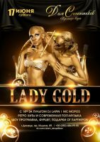 LADY GOLD PARTY!