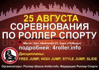 Соревнования по роллер спорту
