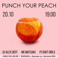 PUNCH YOUR PEACH