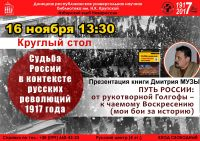 Судьба России в контексте русских революций 1917 года