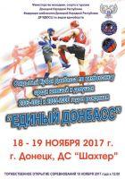 Открытый кубок Донбасса по кикбоксингу