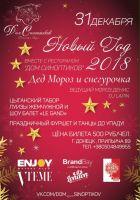 Новый год 2018 в Доме синоптиков