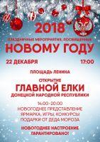 Открытие главной новогодней ёлки