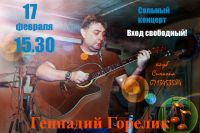 Сольный концерт Геннадия Горелика