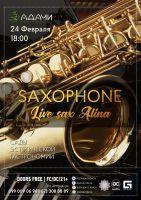 Saxophone live