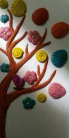 Цветочный натюрморт. Живопись пластилином