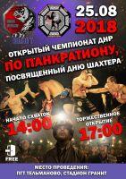 Открытый Чемпионат ДНР по Панкратиону