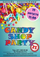 CANDY SHOP PARTY