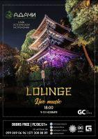 Lounge. Live music