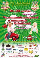 Чемпионат ползунков и маленьких водителей