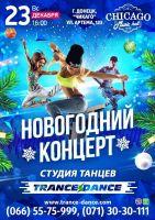 Новогодний концерт школы танцев Trance-dance