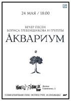 Вечер песен Бориса Гребенщикова и группы