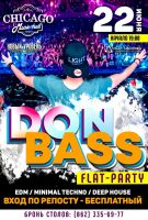 DON BASS Flat Party