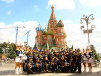 Плац-концерт детского духового оркестра