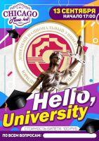 Hello, University