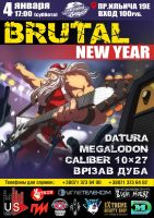 BRUTAL NEW YEAR