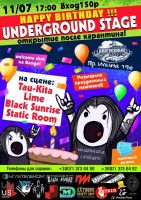 Happy Birthday Underground Stage