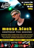 Mouse.black. Emotional live session