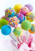 Кейк-попсы - сладости из бисквита