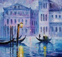 Теплый пейзаж для любителей Венеции