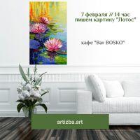 Пишем цветочную картину в стиле импрессионизма