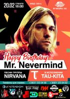 Happy Birthday Mr.Nevermind