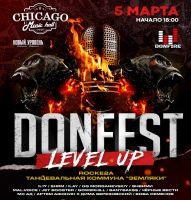 DONFEST. Level UP