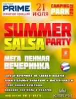 Summer salsa party