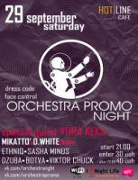 Orchestra promo night