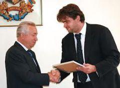 Мэр Донецка заслужил Почетный знак УЕФА