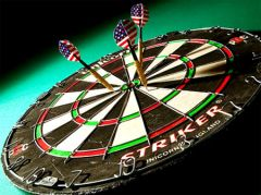 16 декабря пройдет итоговый турнир по дартсу