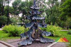 В Донецке планируют построить вторую очередь парка кованых фигур