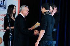Мэр Донецка Александр Лукьянченко наградил победителей Всеукраинского Чемпионата компьютерных талантов