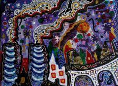 Сегодня дончане увидят Донецк глазами грузинского художника