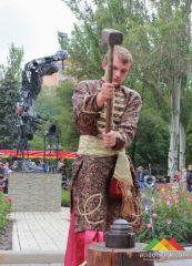 В Донецке началась подготовка к  XVI международному фестивалю «Парк кованых фигур»