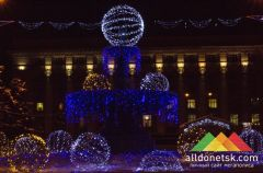 В Донецке подготовлена программа новогодних праздничный мероприятий