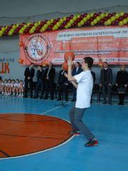 В Донецке состоялась торжественная церемония открытия  Донецкой Школьной Баскетбольной Лиги