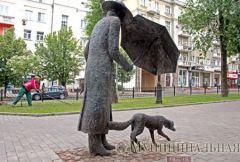 В Донецке на бульваре Шевченко установили скульптурную композицию