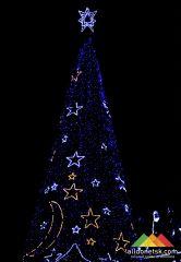 В Донецке состоится открытие Новогодней елки города