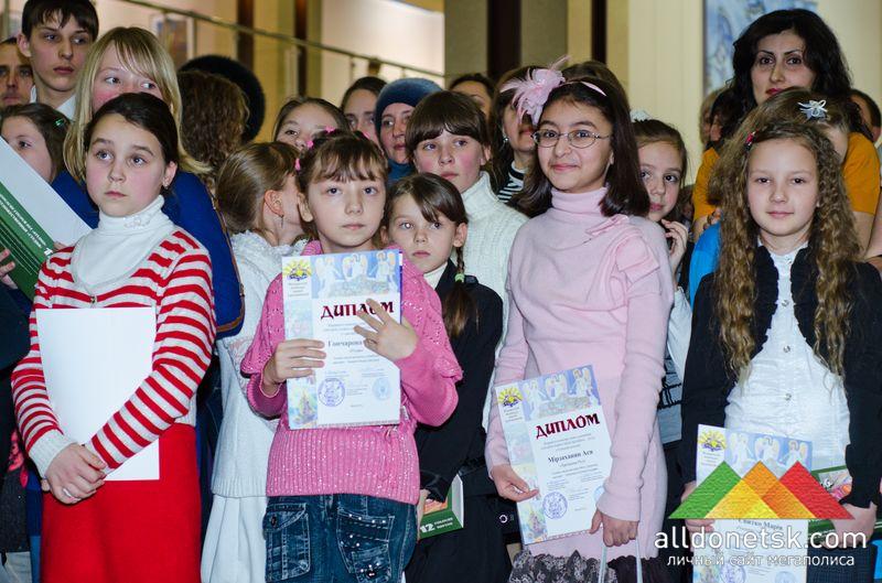Юные таланты, победившие в конкурсе, были очень довольны