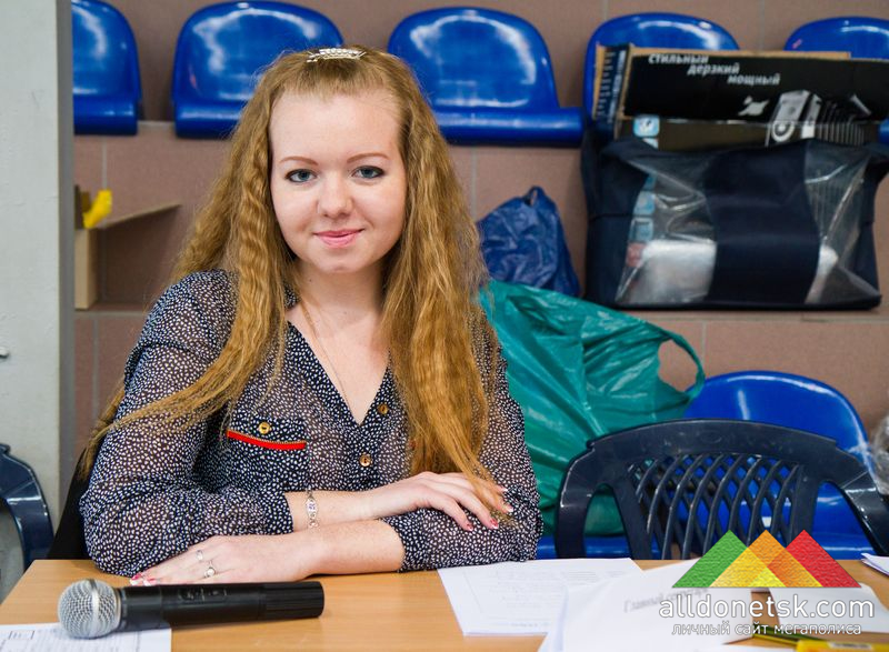 Главный секретарь Юлия Аникеева